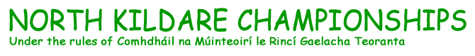North Kildare Championships
